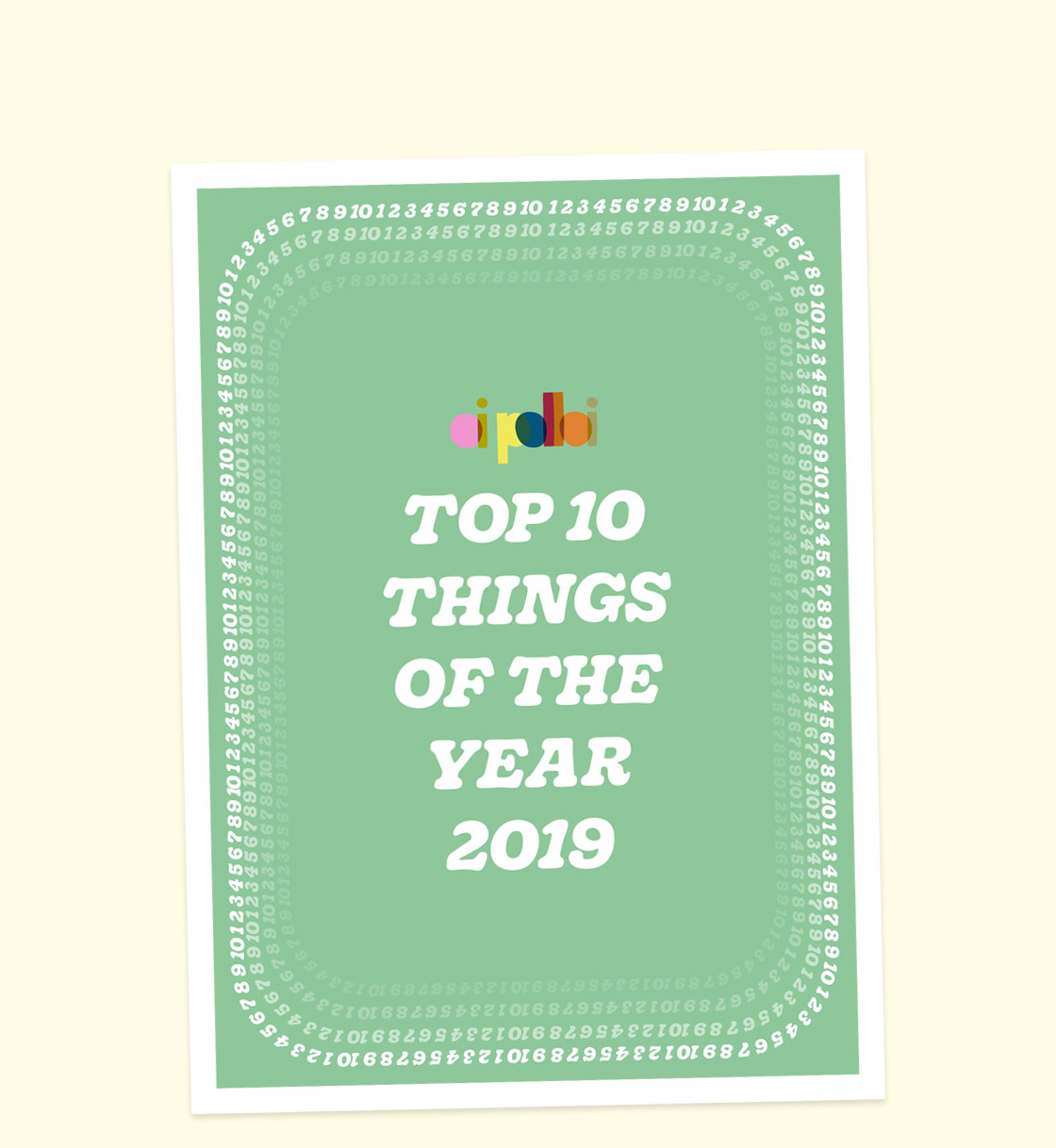 Top Ten Things of 2019