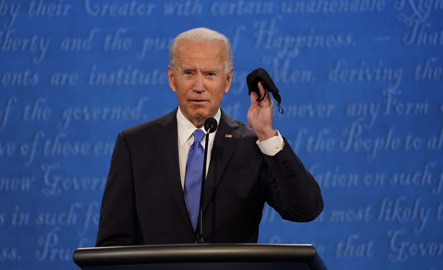 Joe Biden lied like
