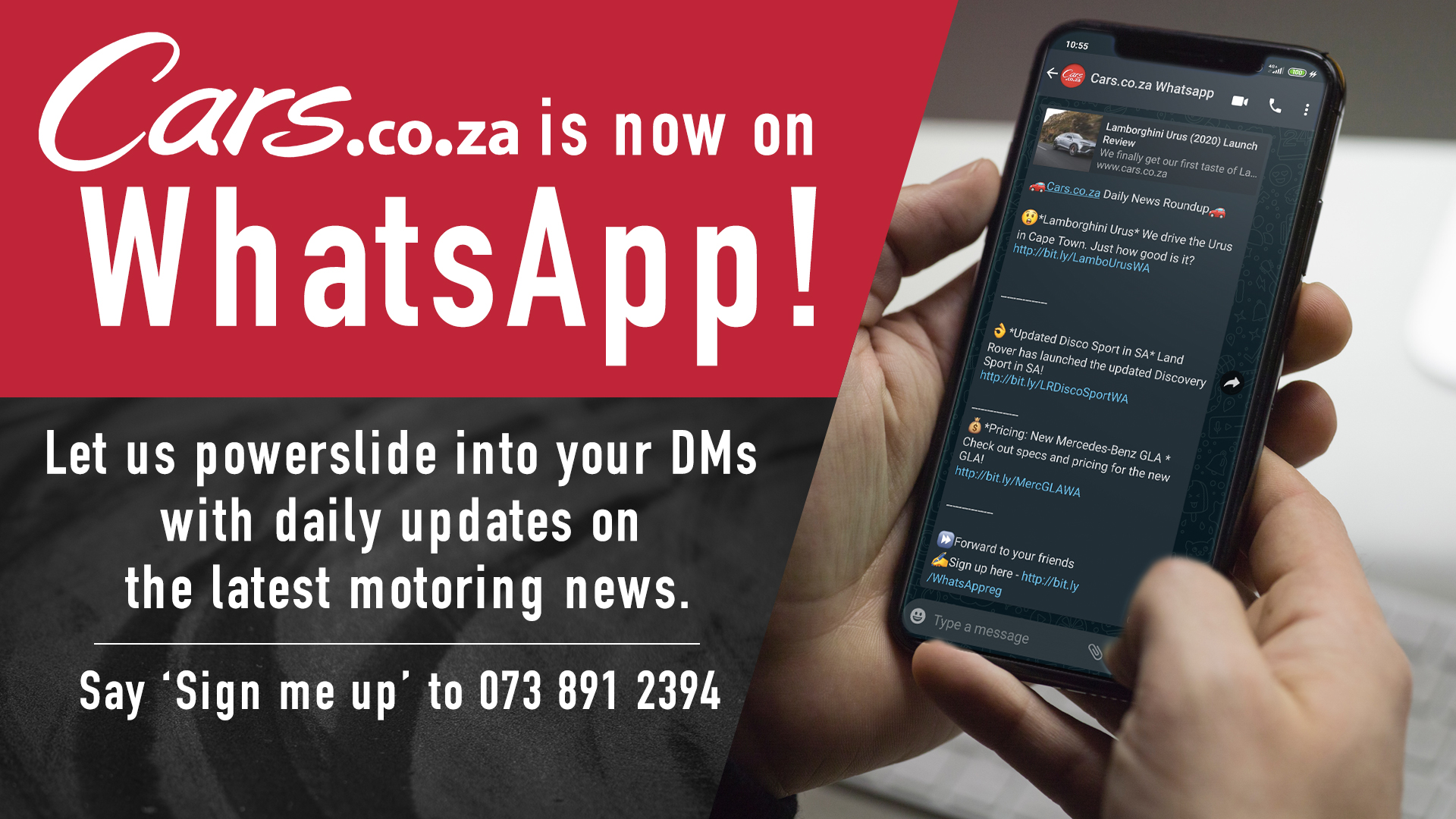 Cars.co.za Whatsapp Group