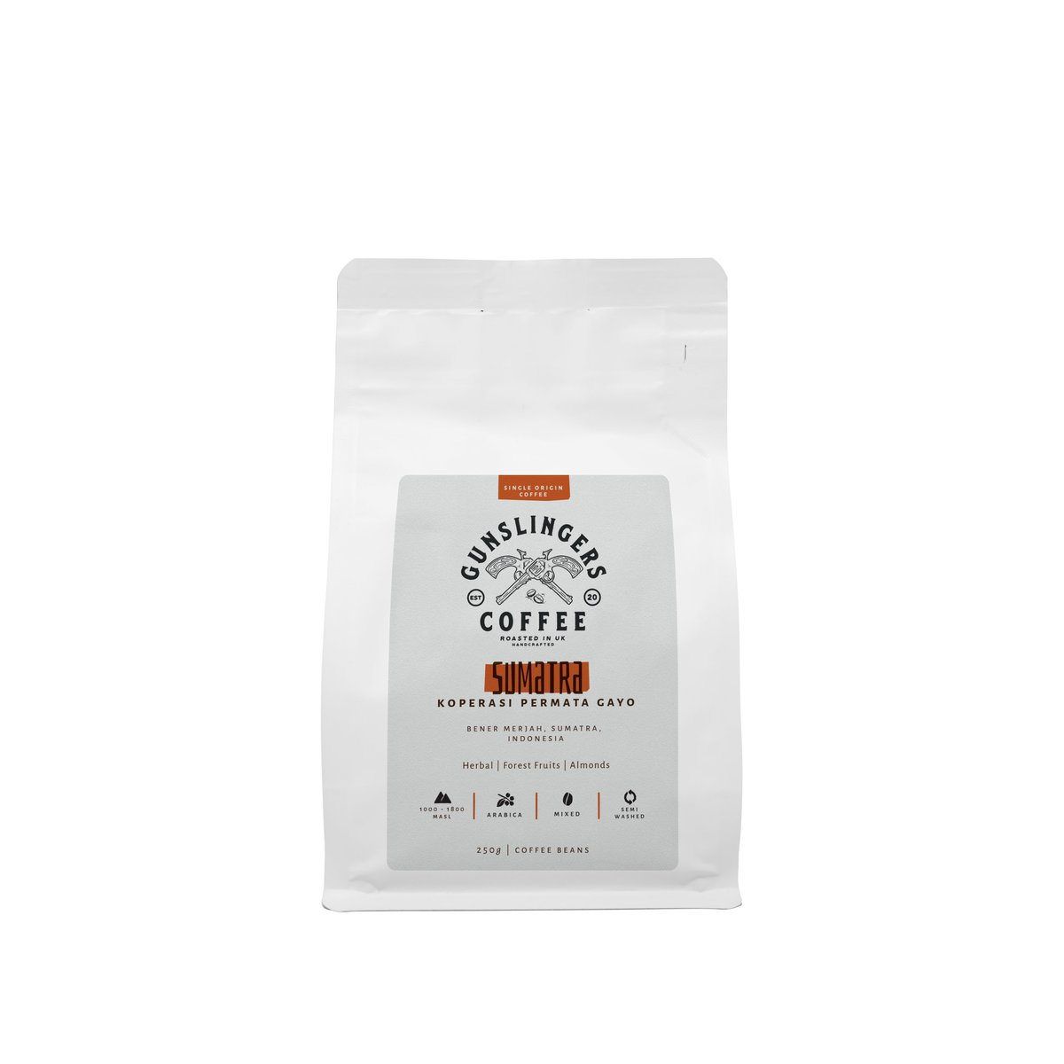 Sumatra Single Origin Arabica Whole Bean Coffee Beans