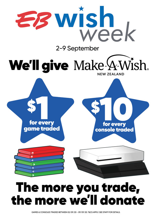 Make a Wish Donations per trade