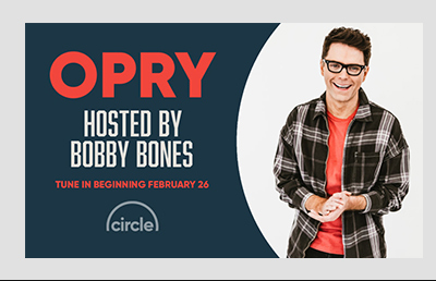 Opry hosted by Bobby Bones