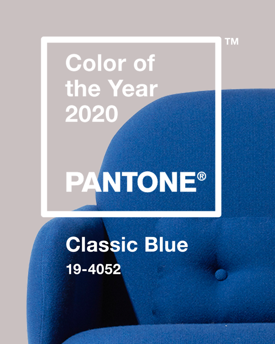 CLASSIC BLUE: BRINGING PEACE AND CALM IN 2020
