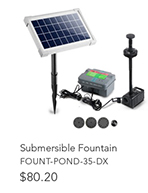330L/H Submersible Fountain