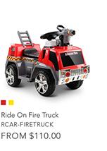 Ride On Fire Truck