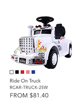 Ride On Truck