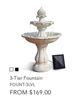3-tier Fountain