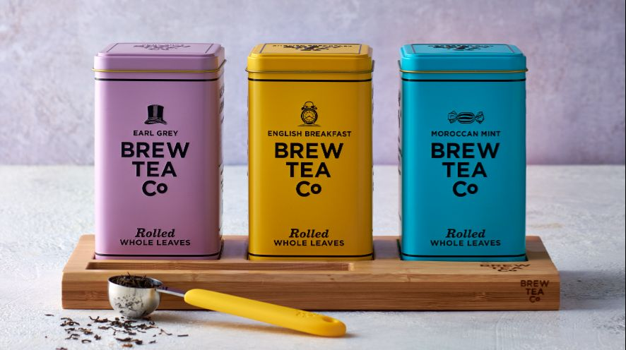 Tins of Brew Tea