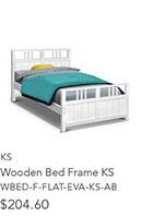 Wooden Bed Frame KS