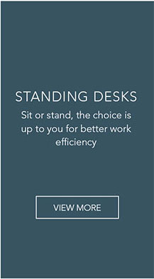 Sit or stand, the choice is up to you for better work efficiency