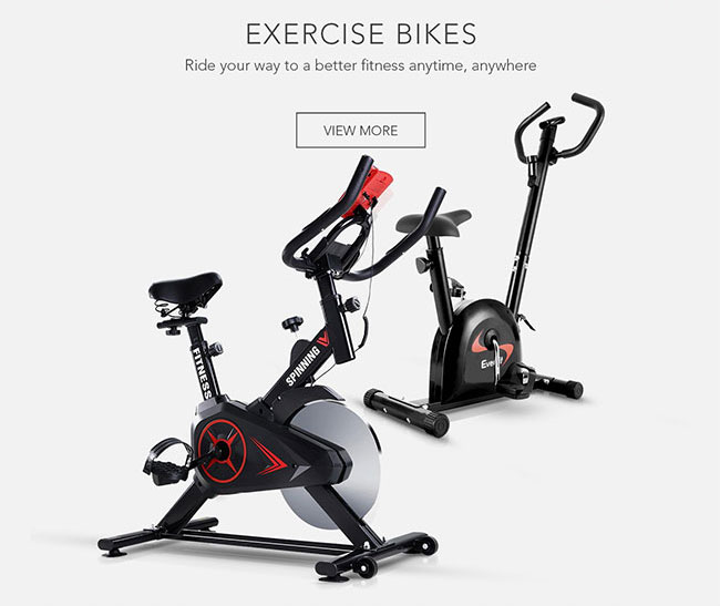 Ride your way to a better fitness anytime, anywhere