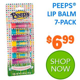 PEEPS Lip Balm 7-Pack