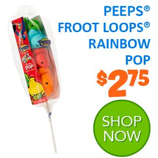 NEW for 2020 - PEEPS FROOT LOOPS RAINBOW POP