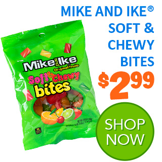 MIKE AND IKE SOFT AND CHEWY BITES