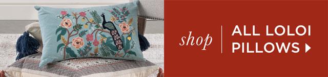 Shop all Loloi pillows.