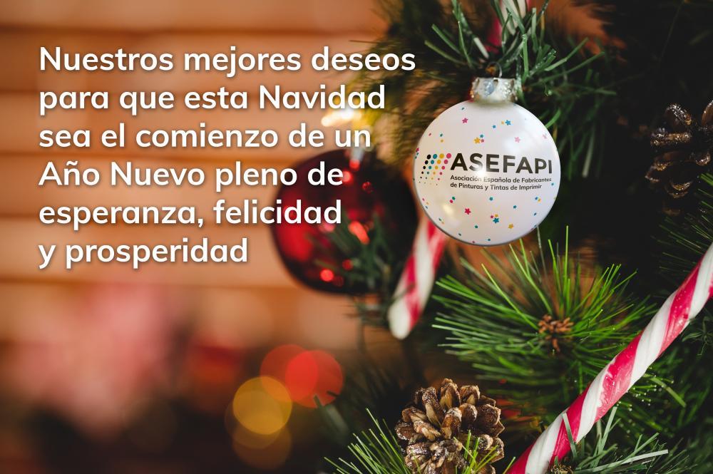 Nuestros mejores deseos para que esta Navidad sea el comienzo de un ?o Nuevo pleno de esperanza, felicidad y prosperidad