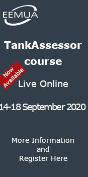 EEMUA TankAssessor Course - Live Online September 2020