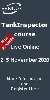 EEMUA TankInspector course Live Online November 2020