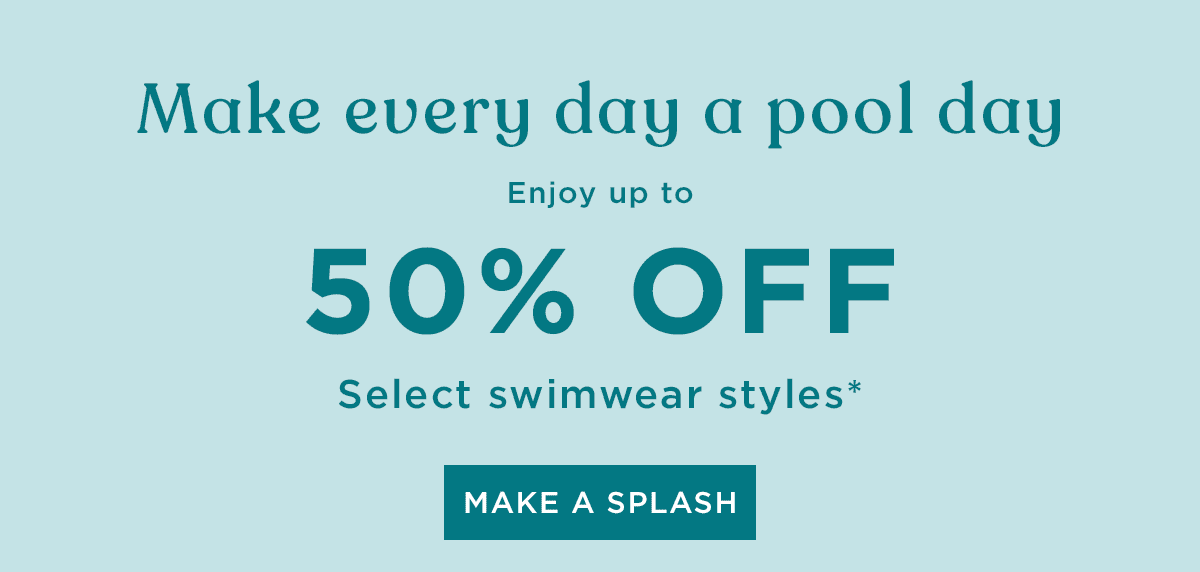 Swimwear Sale up to 50% sale
