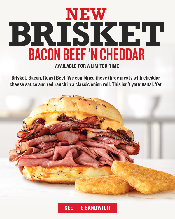 Brisket Bacon Beef 'n Cheddar