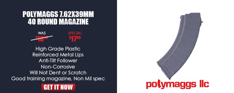 Aftermarket Bulgarian 40 rd polymer magazine
