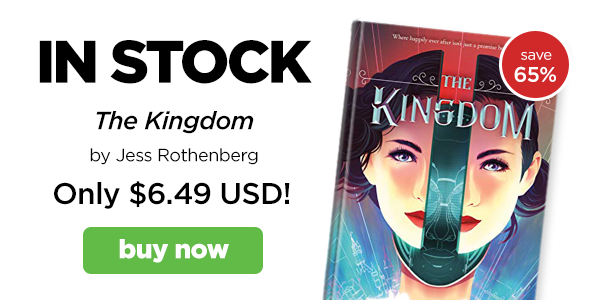 Now in stock: The Kingdom by Jess Rothenberg!