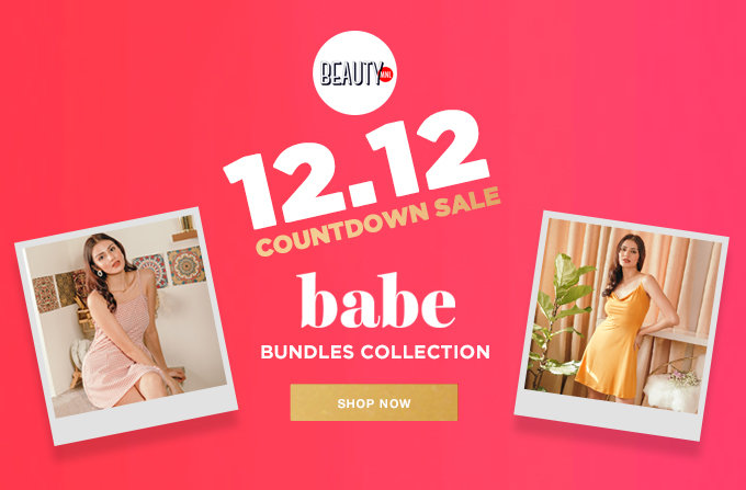 12.12 COUNTDOWN SALE   BABE BUNDLES COLLECTION   SHOP NOW >>