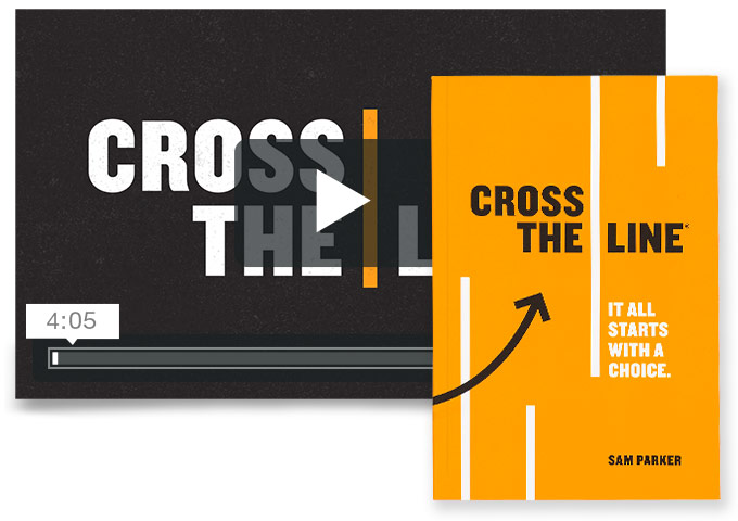 Cross The Line Video & Book