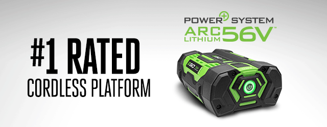 #1 Rated Cordless Platform - EGO POWER+ System