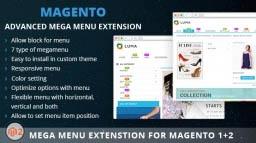 Mega Menu Extension forMagento 2