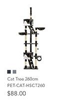 Cat Tree 260cm