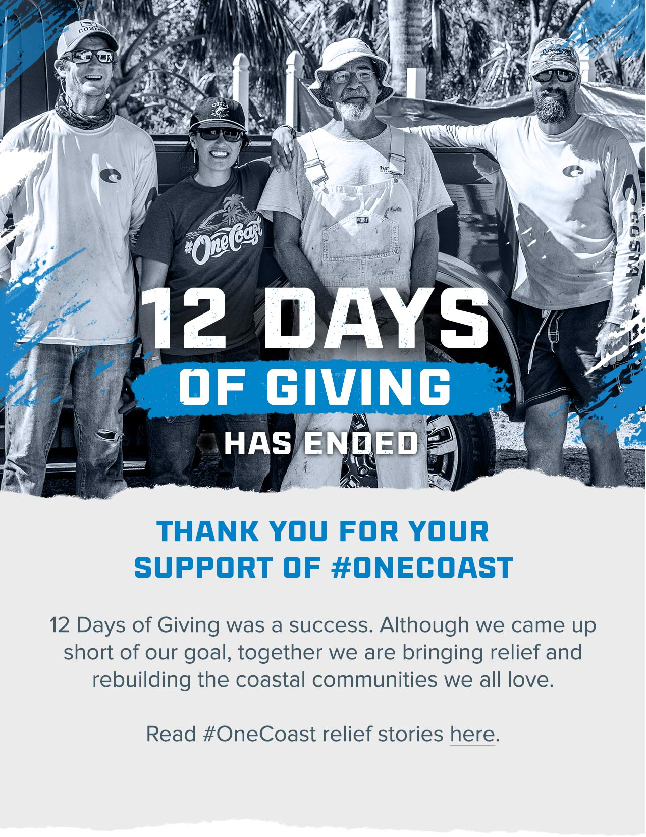 12 Days of Giving - Thank You