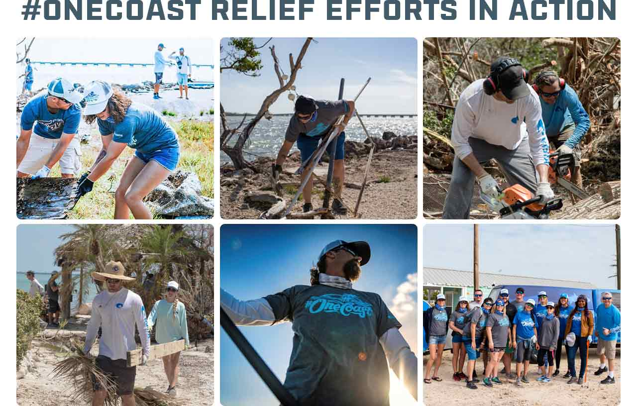 #OneCoast Relief Efforts in Action