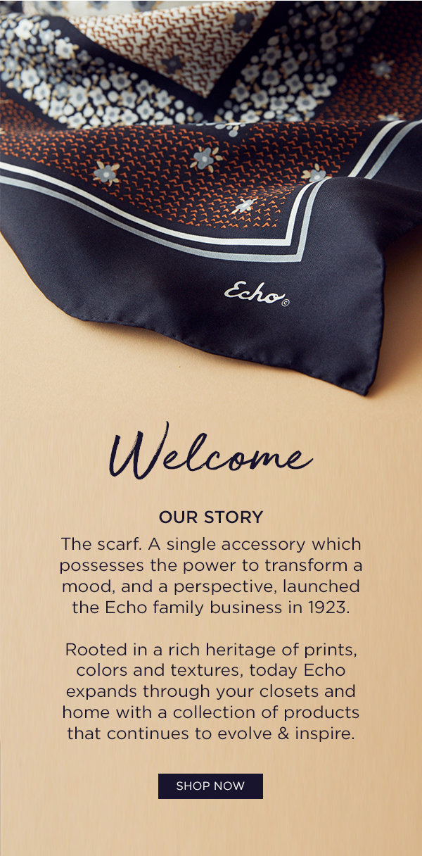 Welcome to Echo