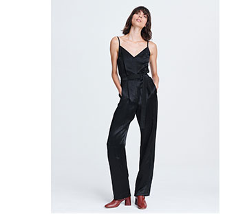 The Rochelle Jumpsuit in Black.