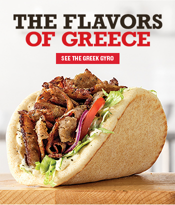 The Flavors Of Greece     SEE THE GREEK GYRO