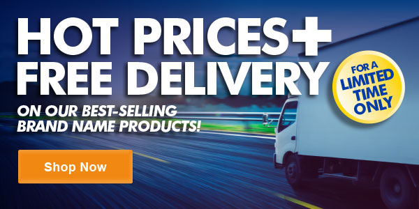 Hot Prices + Free Delivery