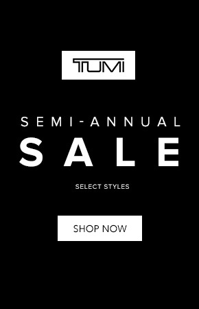 Shop Tumi's semi annual sale