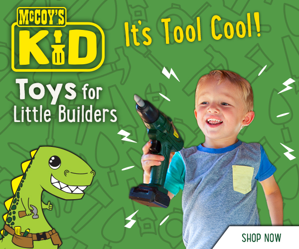 We have the perfect Christmas present for your little builder!