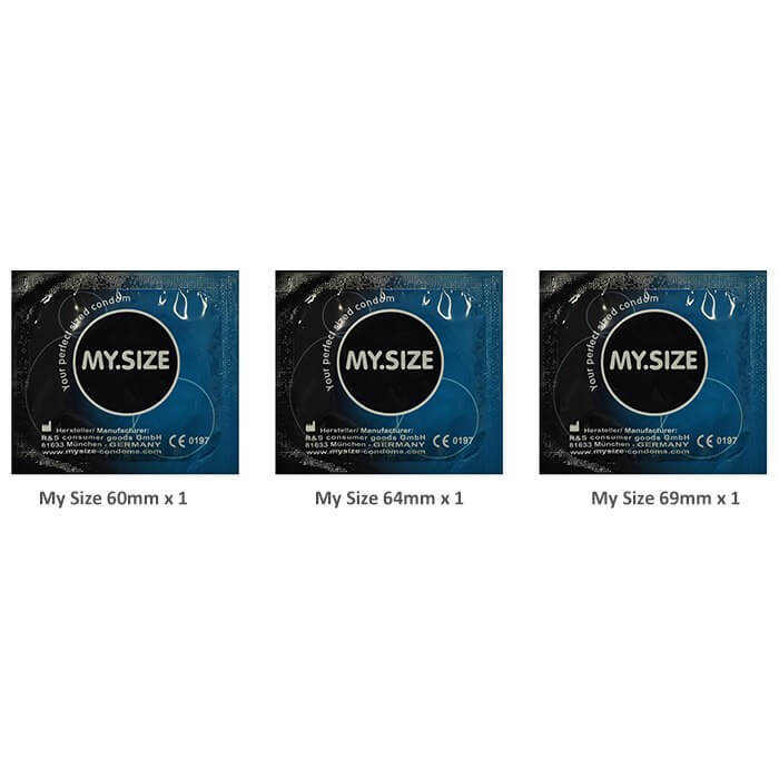 My Size Large Size Condoms Trial Pack (3 Pack)