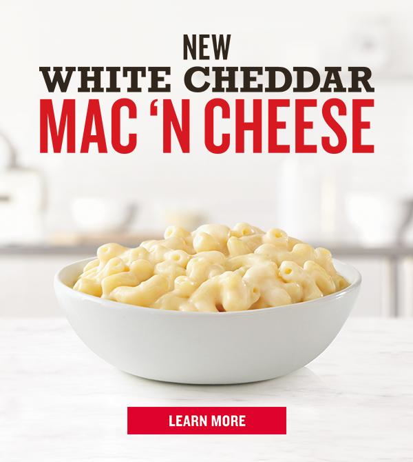 NEW White Cheddar Mac n Cheese