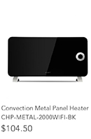 Convection Metal Panel Heater