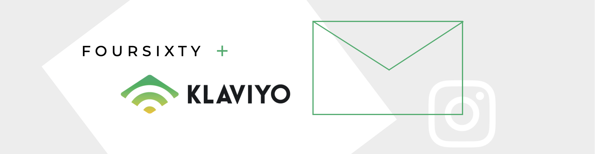 Klaviyo x Foursixty Launch Header Image