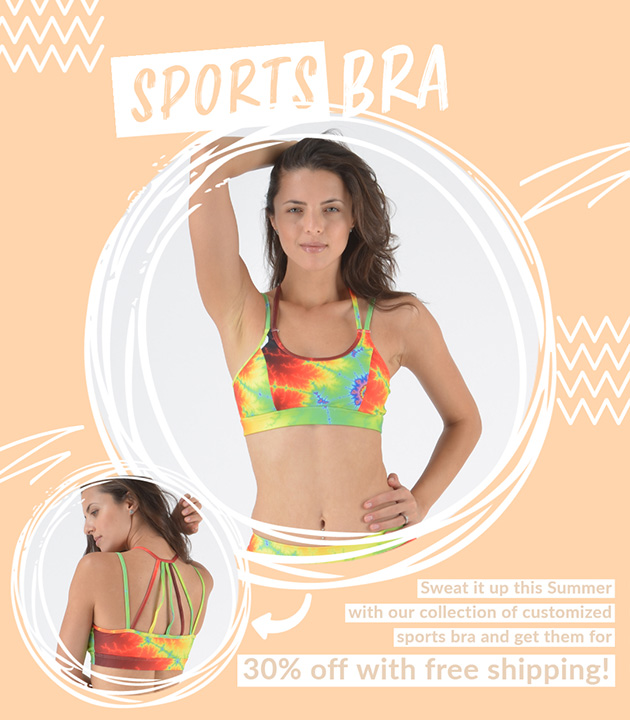 Sports Bra Sale - All Sports Bra for 30% off with free shipping!