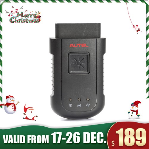 [Xmas Sale] (US Ship, No Tax) Autel MaxiSYS-VCI100 Compact Bluetooth Vehicle Communication Interface Only for Autel MS906BT
