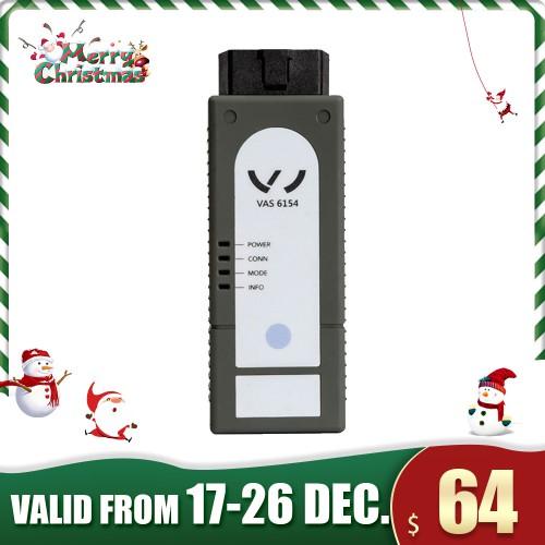 [Xmas Sale] WiFi V-A-S 6154 V-A-S6154 V-A-G Diagnostic Tool VW Audi Skoda with ODIS 6.10 Software