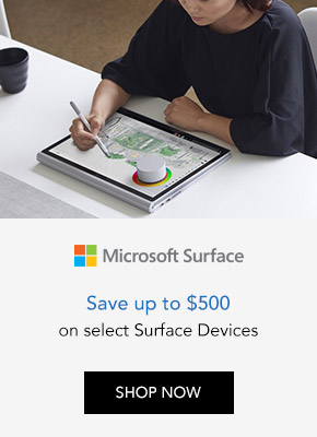 Save up to $500 on Microsoft