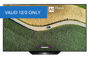 Shop LG B9 OLED 65 4K Smart OLED TV with AI ThinQ