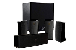 Shop MartinLogan Motion 5.1 Black Home Theater Speaker System