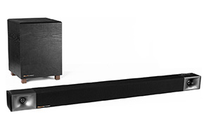 Shop Klipsch BAR 40 Black Sound Bar + Wireless Subwoofer